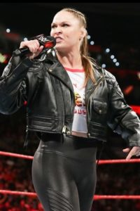 ronda rousey leather