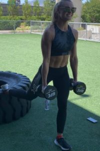 Andrea Lee workout