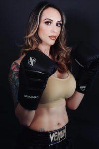 Charisa Sigala boxing