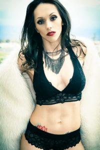 Charisa Sigala hot lingerie